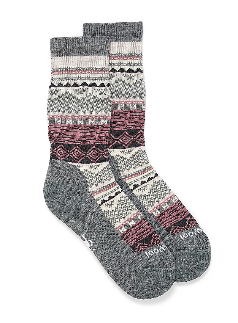 Smartwool Charcoal Dazzling Wonderland socks for women