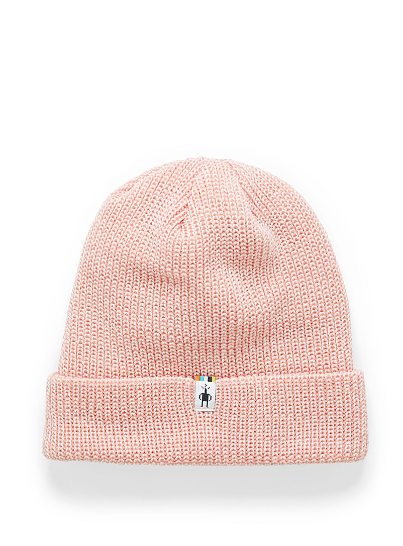 Smartwool Pink Cantar merino knit tuque for women
