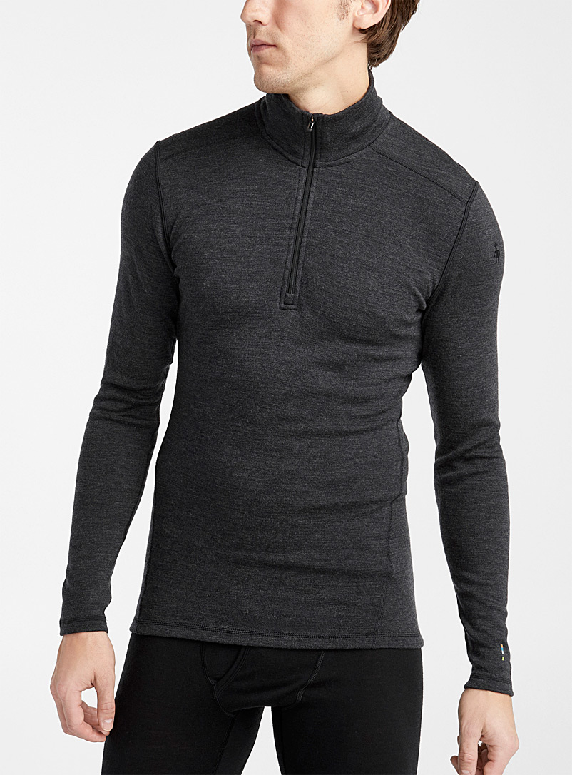 Smartwool Oxford Half-zip 250 merino thermal top for men