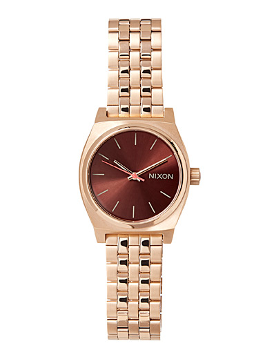 Medium Time Teller metallic watch