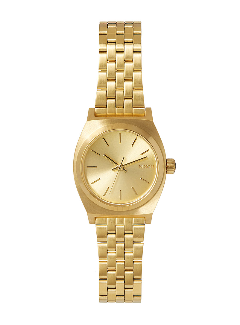 Nixon Assorted Time Teller small watch for women