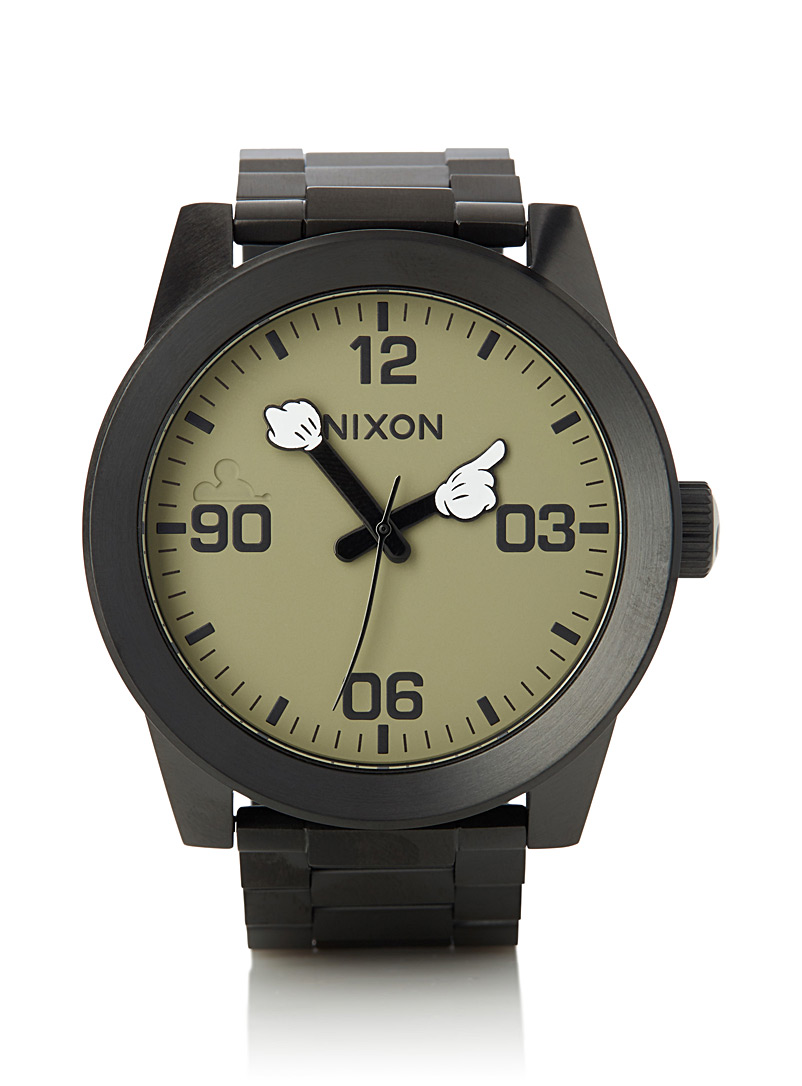 Mickey Corporal watch - Watches - Charcoal