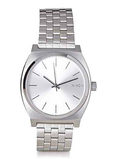 Time Teller silver watch