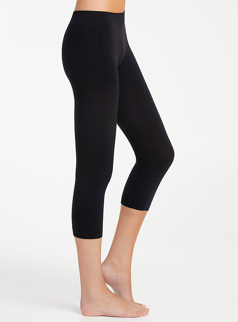 Basic capri legging - Leggings & Jeggings - Black
