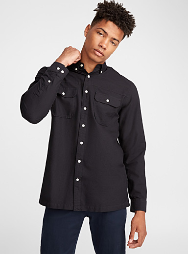 La chemise oxford workwear