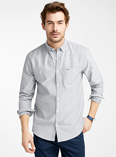 Organic cotton oxford shirt  Modern fit