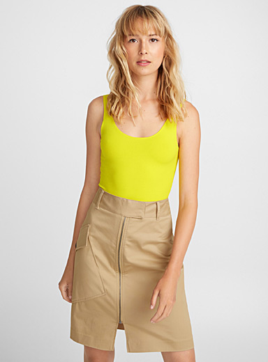 Cami-style solid bodysuit