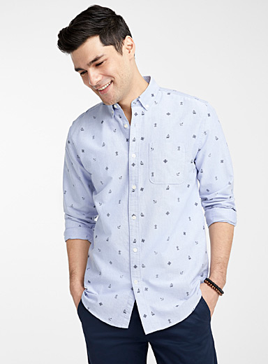 Summer Oxford shirt  Modern fit
