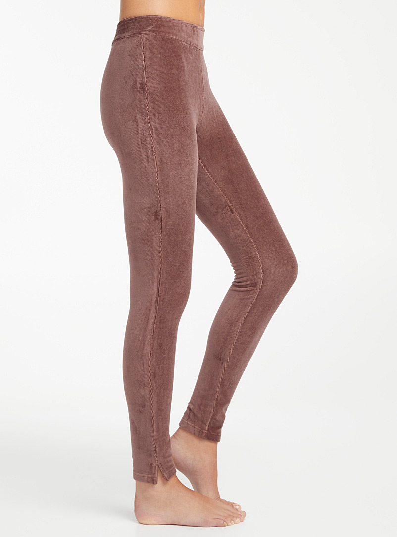 Simons Dusty pink  Corduroy legging for women