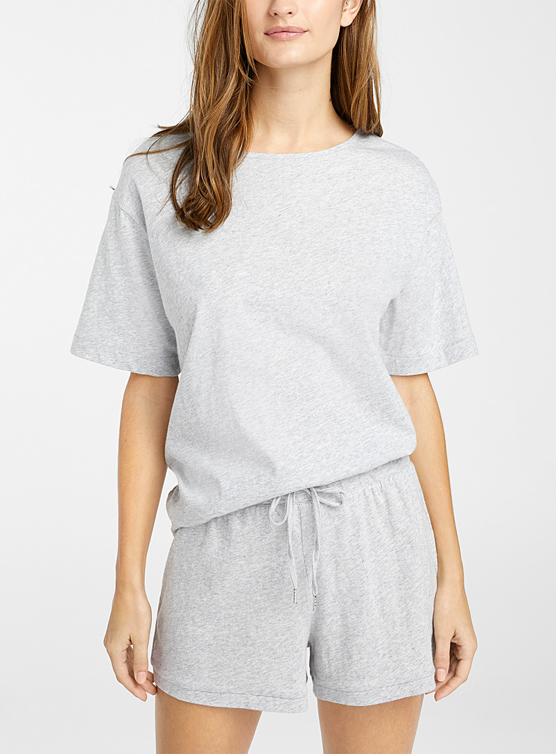 Organic cotton boxy T-shirt