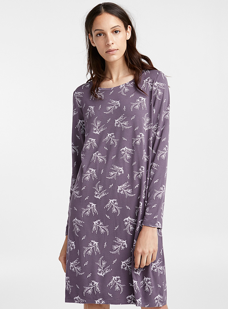 floral-print-nightgown