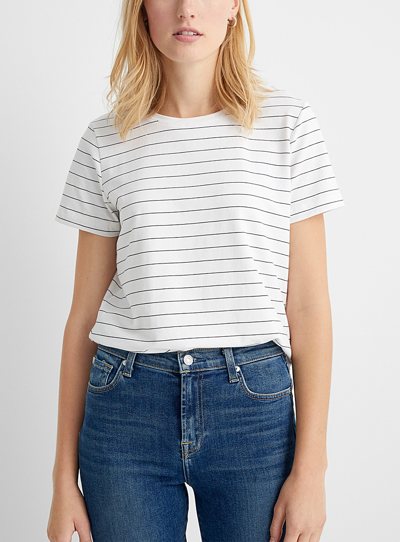 SUPIMA® cotton striped tee