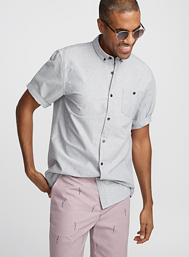 Essential oxford shirt  Semi-tailored fit