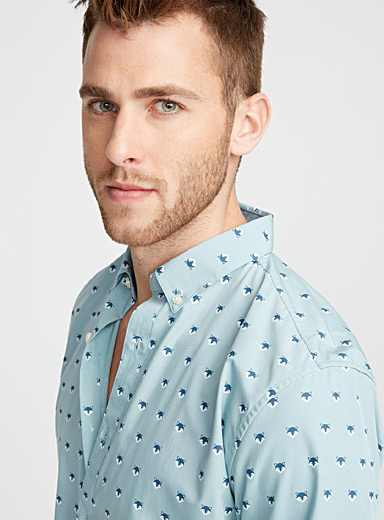 Flora and fauna shirt <br>Semi-tailored fit