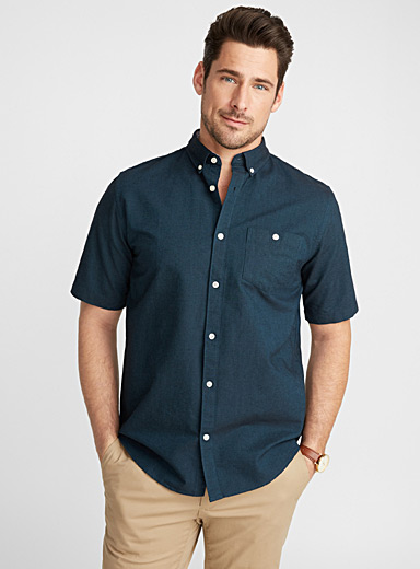 Blue oxford shirt  Modern fit