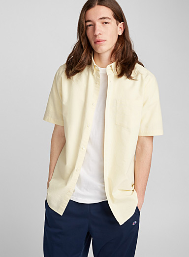 Faded oxford shirt
