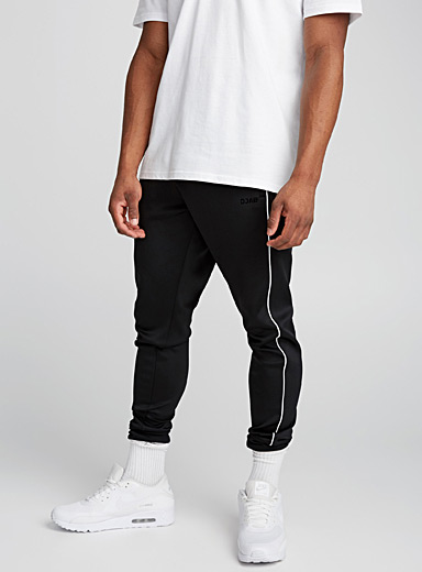 Stretch microfibre track pant