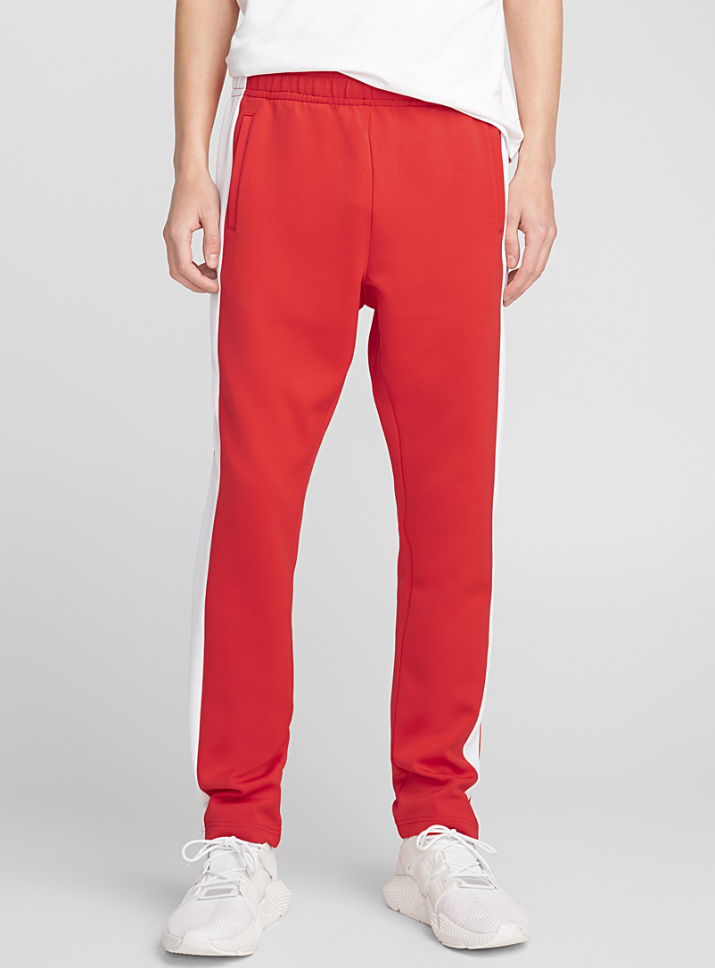 Retro track pant - Joggers - Bright Red