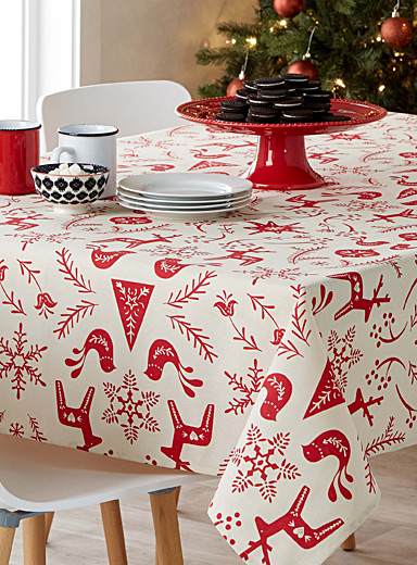 Magical folklore tablecloth