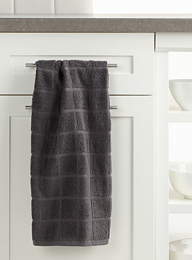 Charcoal cook's towel