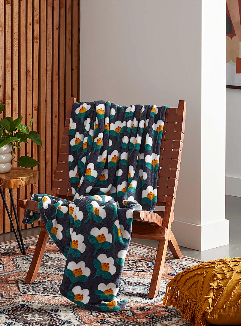 Simons Maison Assorted Floral tapestry throw 130 x 180cm