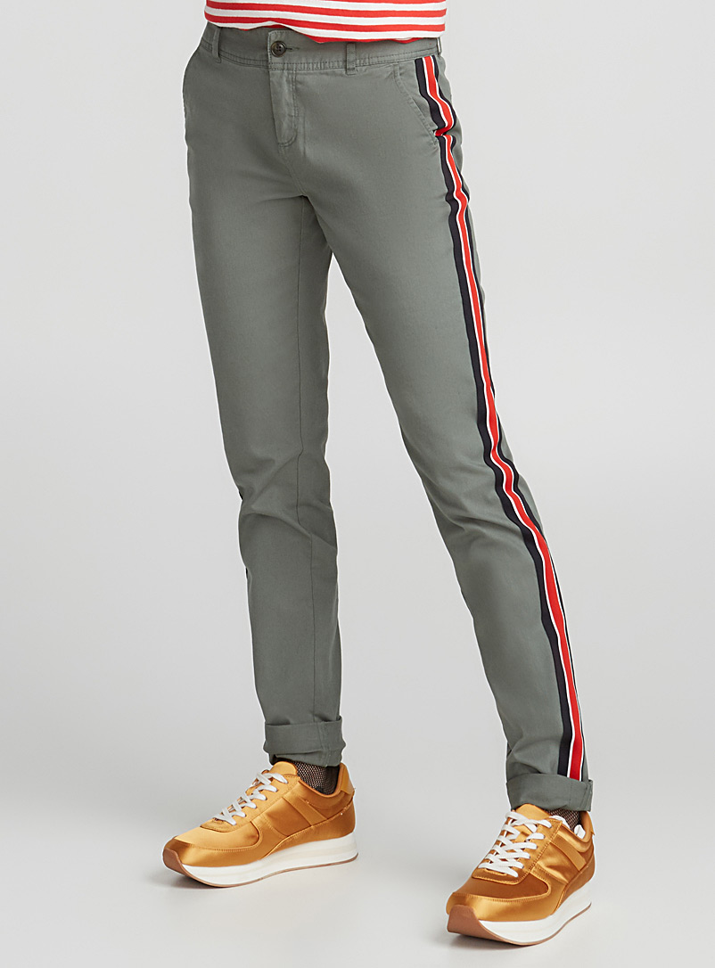 Utility chinos - Skinny - Lime Green