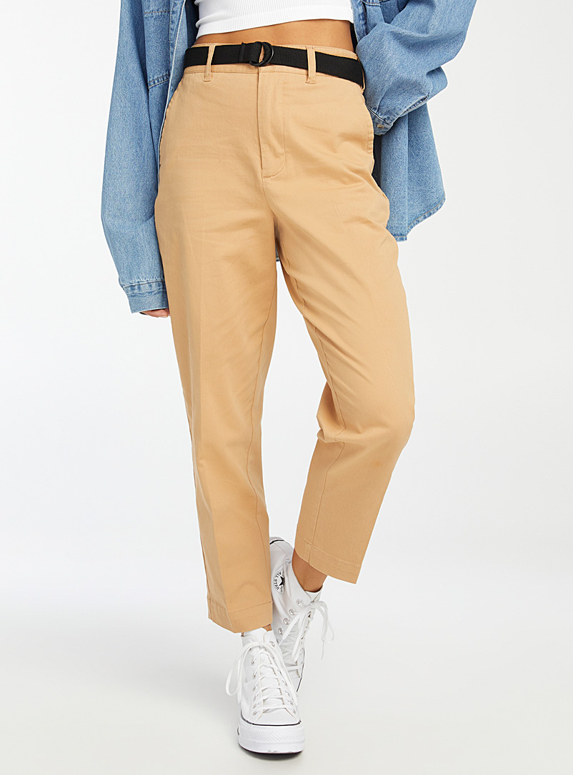 Twik Sand Organic cotton straight pant for women