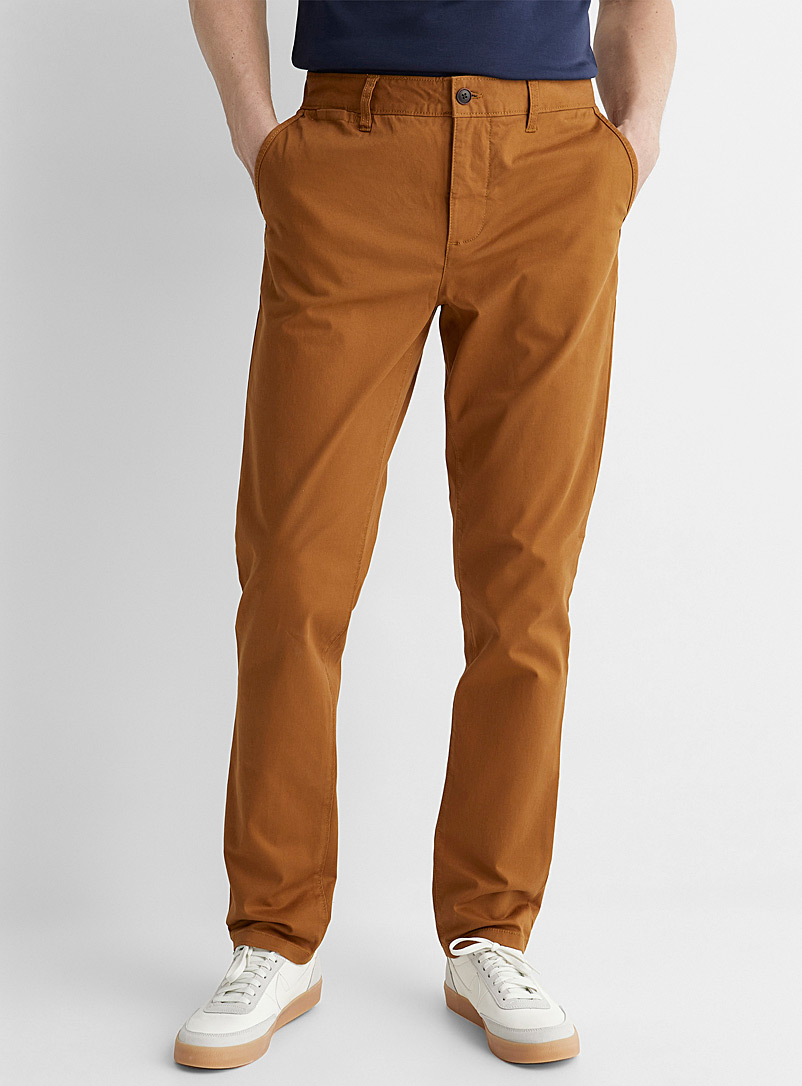 Le 31 Honey Stretch organic cotton chinos Stockholm fit - Slim for men