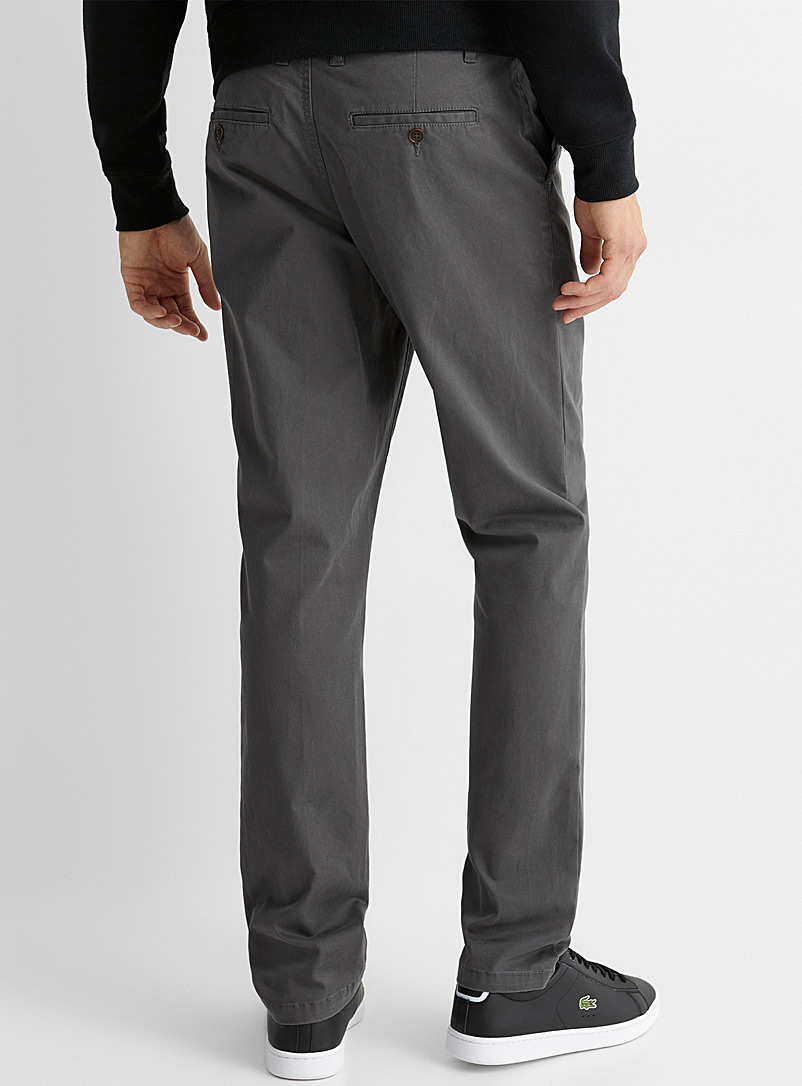 Le 31 Fawn Stretch organic cotton chinos  Stockholm fit-Slim for men