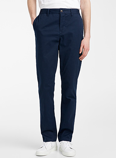Stretch organic cotton chinos  Stockholm fit-Slim