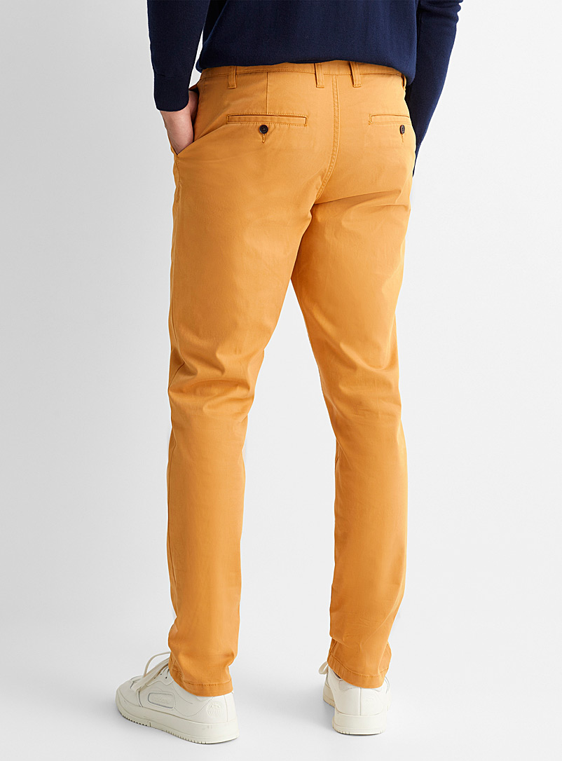 Le 31 Sand Stretch organic cotton chinos  Stockholm fit-Slim for men