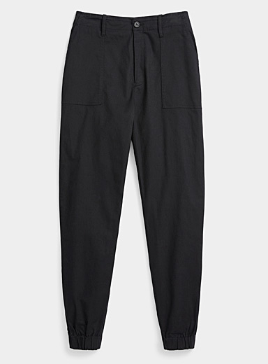 Organic cotton carpenter joggers