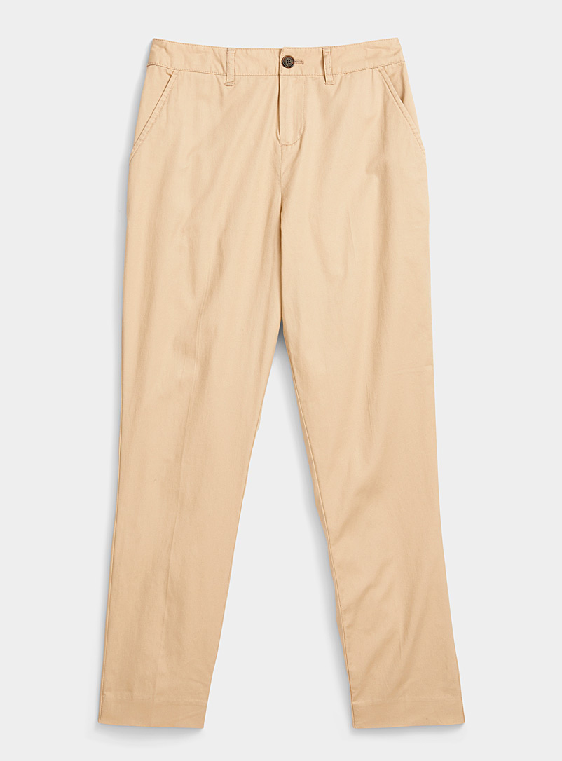 Basic lightweight chinos