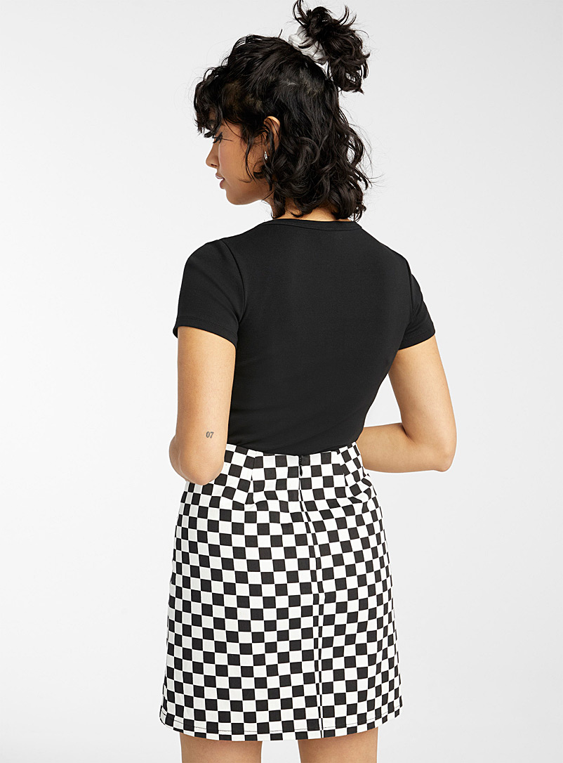 Twik Assorted Structured organic cotton twill skirt for women