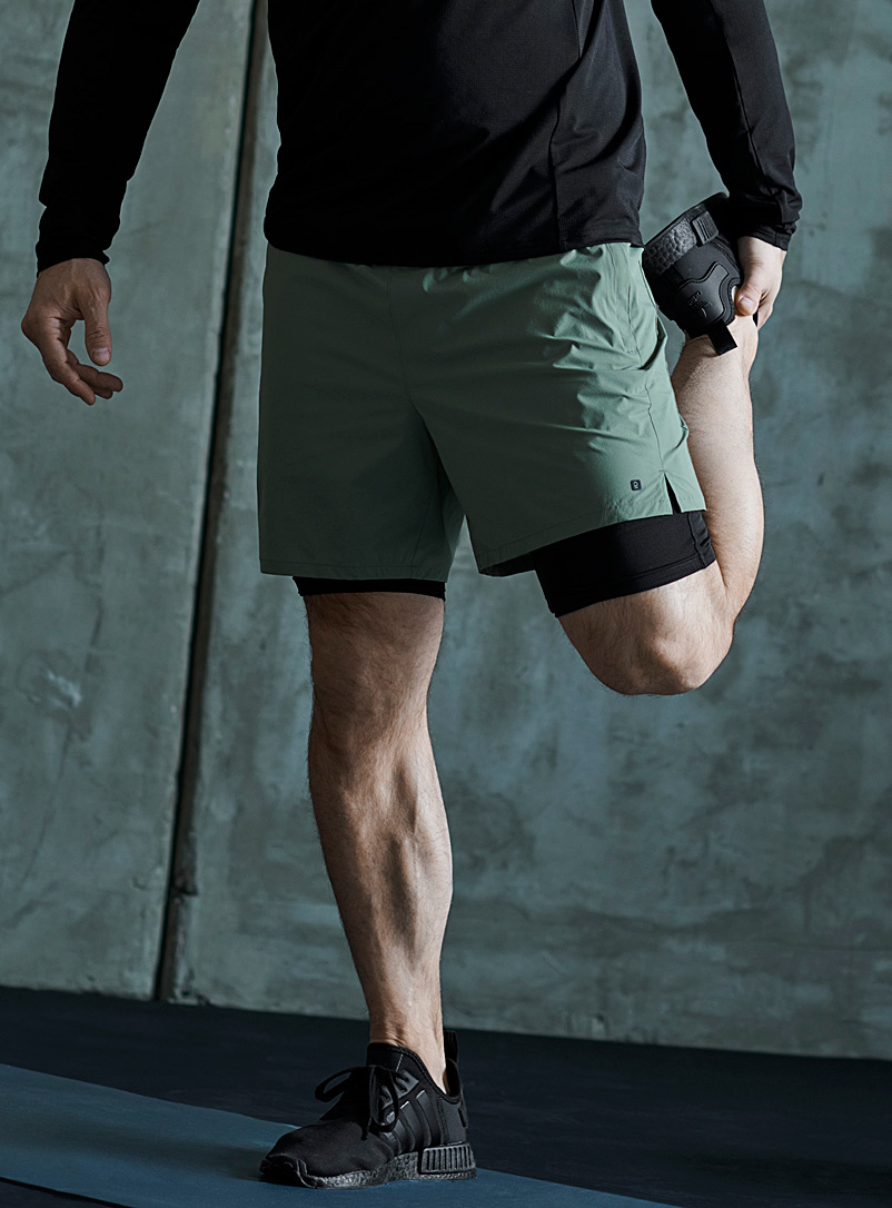 2-in-1 running short