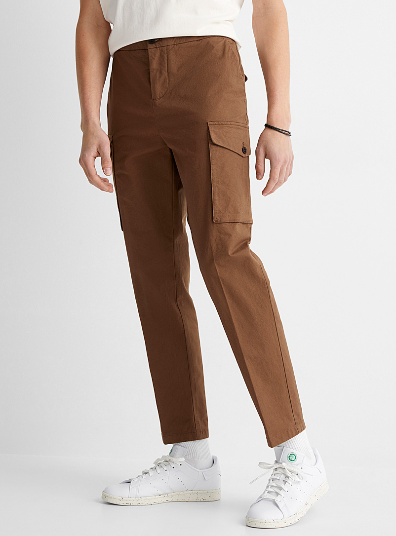 Military cargo pant  Straight, slim fit