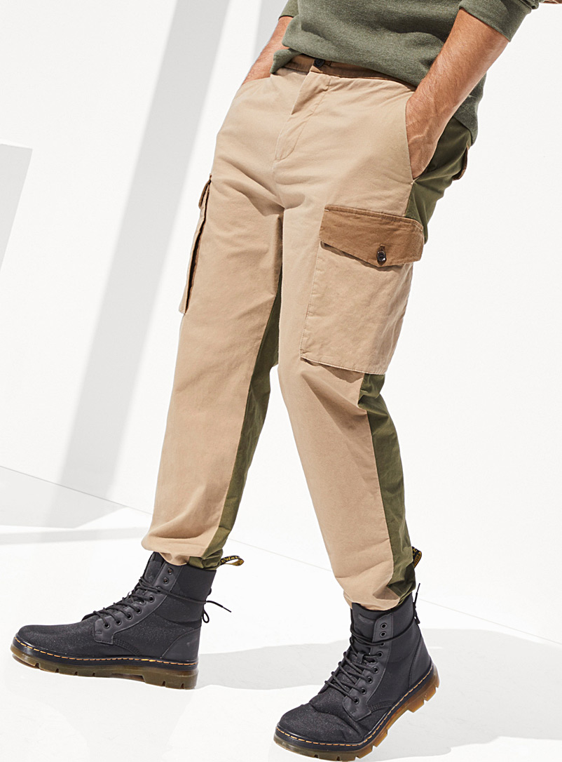 Le 31 Assorted Military cargo pant  Straight, slim fit for men