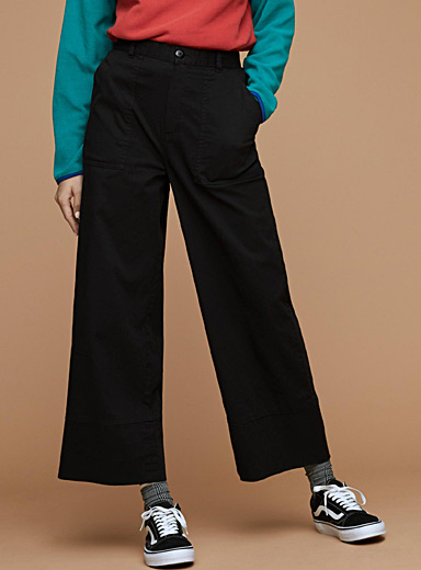 Wide utility pant
