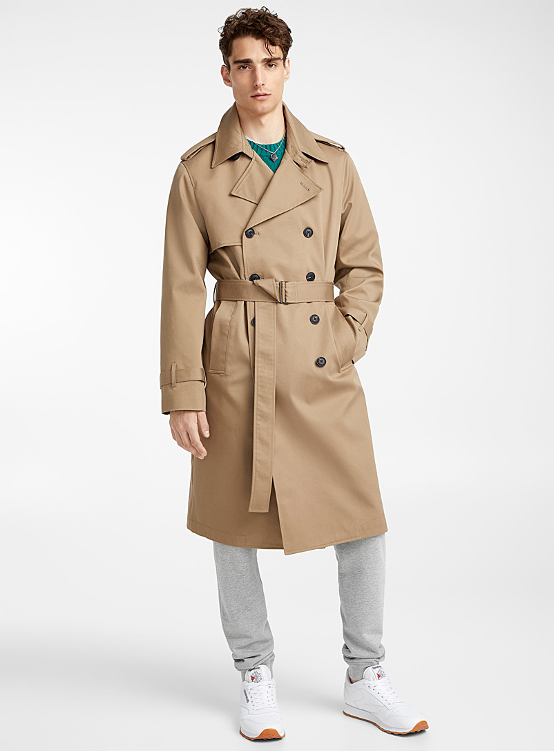 Authentic trench coat - Overcoats - Fawn