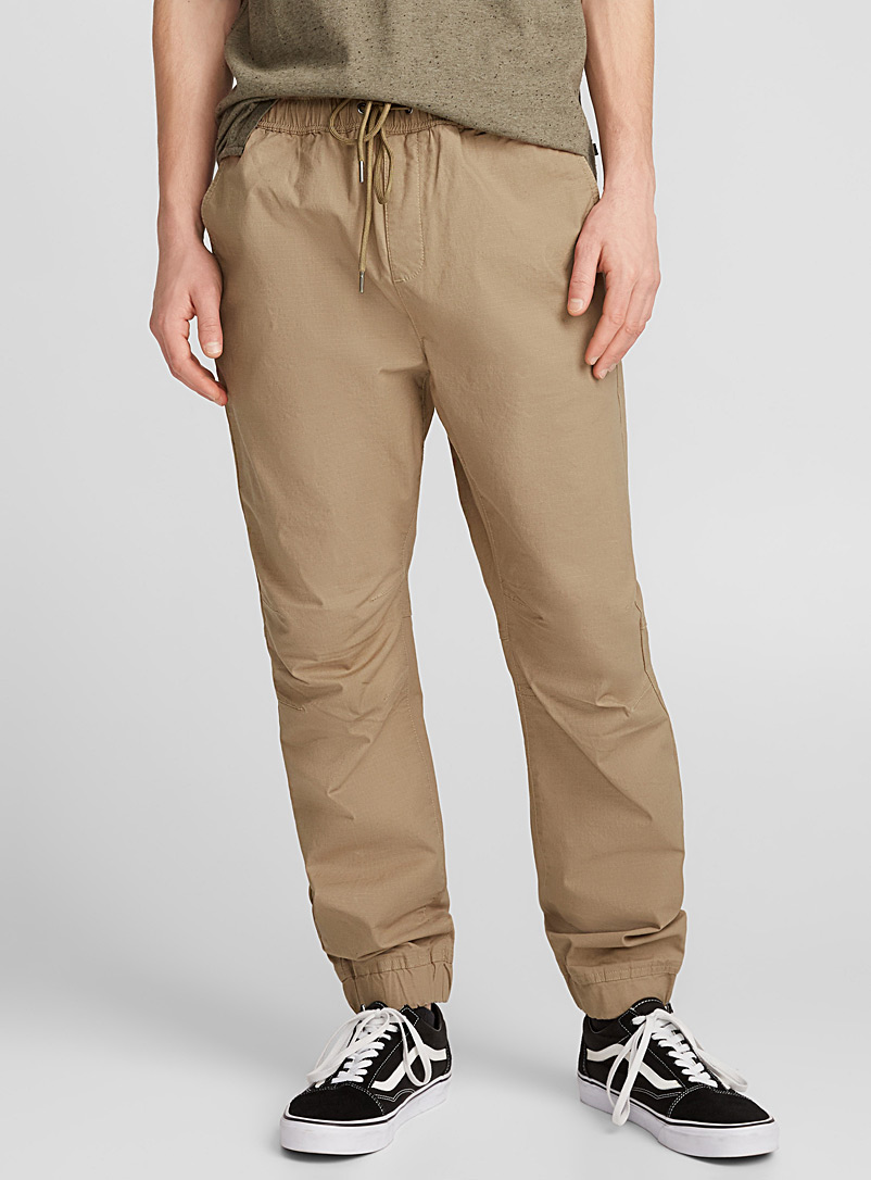 Le jogger ripstop extensible - Joggers - Sable