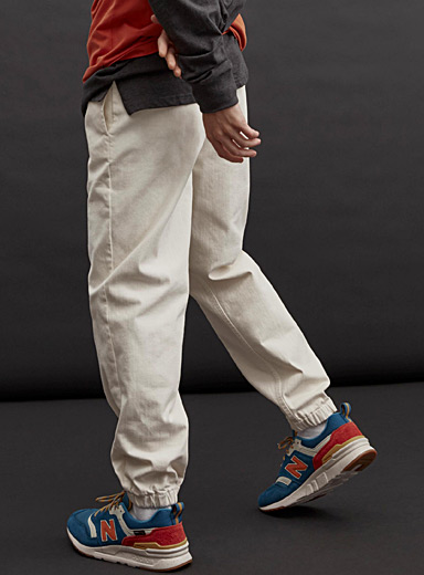Le jogger large denim