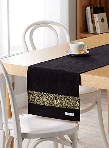 Liberty stripe table runner <br>35 x 180 cm