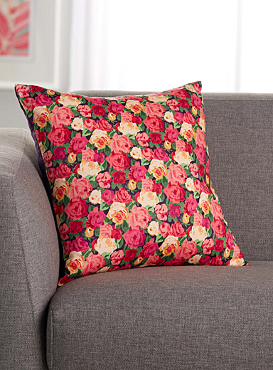 Sheona rose Liberty cushion <br>45 x 45 cm