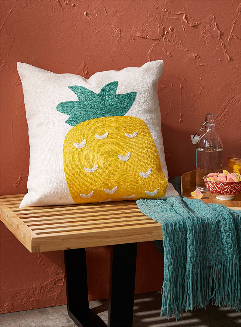 Simons Maison Assorted Sweet pineapple cushion  45 x 45 cm