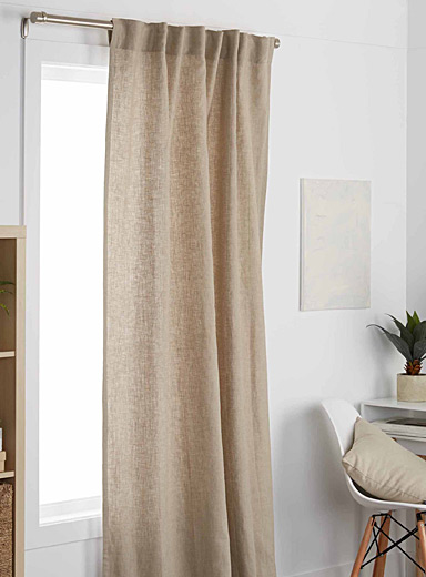 Natural chic curtain 130 x 220 cm