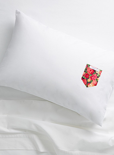 Sheona rose Liberty pocket pillowcase