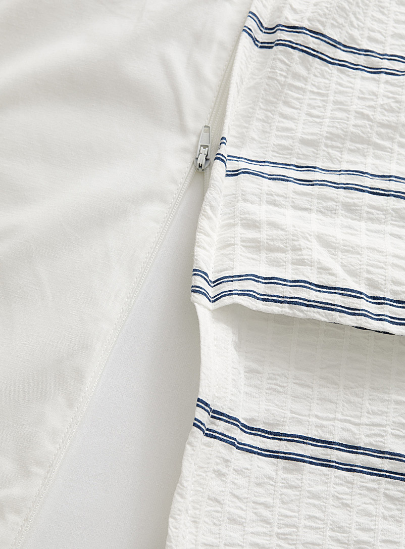 Simons Maison White Yacht club duvet cover set