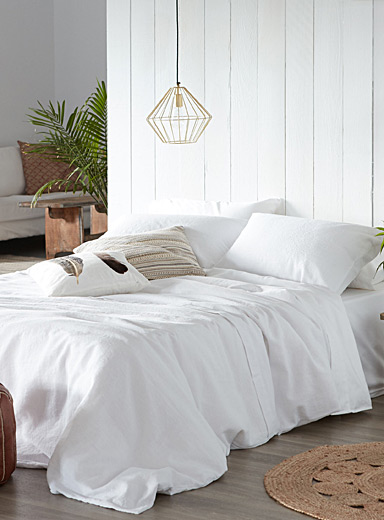 Pure linen duvet cover set