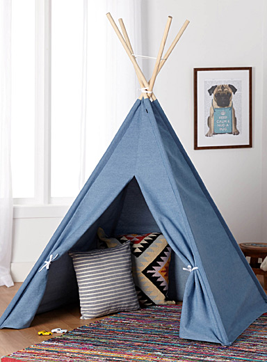 Childrens tent simons maison shop kids home decor accessories online in canada simons