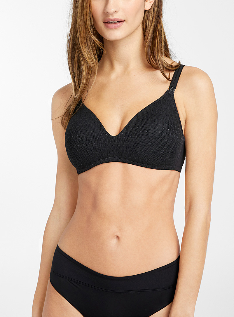 Point d'esprit wireless bra